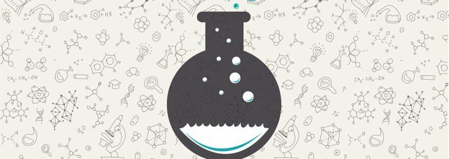 Chemistry Glass Flask Doodle  - atomstalk / Pixabay