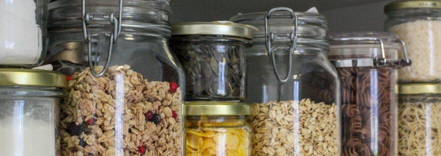 Jars Containers Zero Waste Vegan  - Jasmin_Sessler / Pixabay